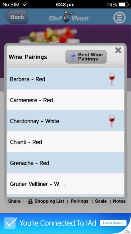 Chef Vivant Lite - iPhone Edition - Customizable, Interactive, Digital Cookbooks and Recipe Channels screenshot-4