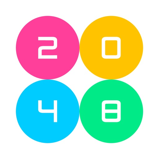 2048 - Mobile Number Puzzle game icon