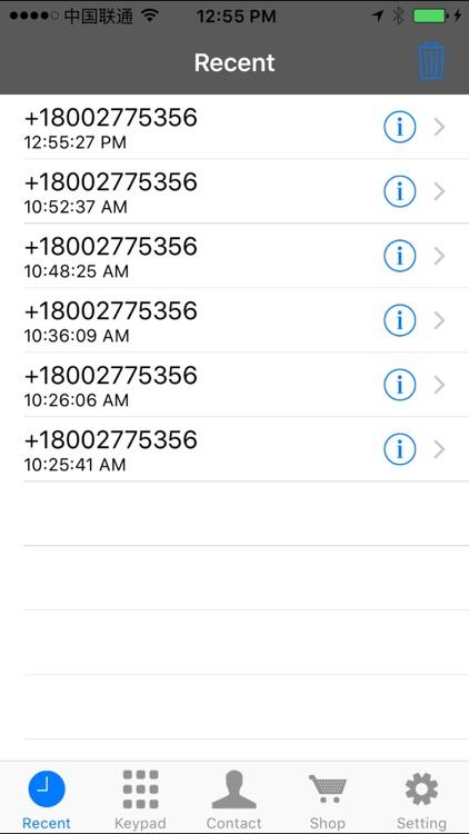 CallMe - Cheap International Call screenshot-3