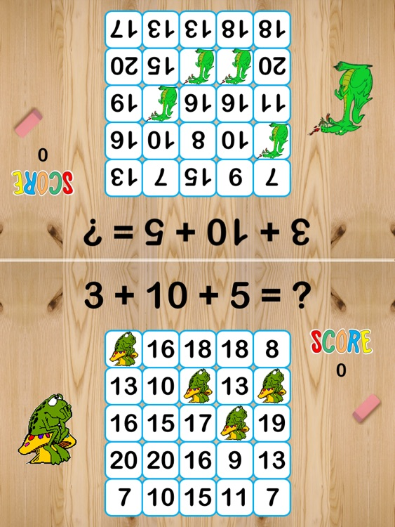 Math Bingo K-3 screenshot-1