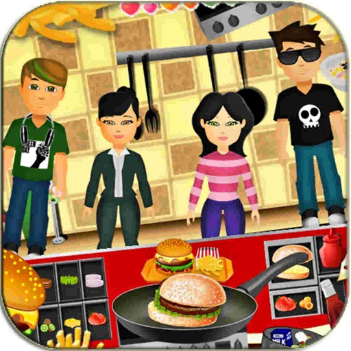 Cooking Hamburger Cool 2016 : Make Games sushi pizzas for fun iOS App