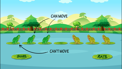 Frog Jump Puzzle screenshot four