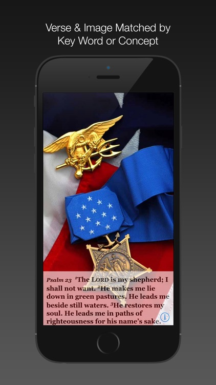 Navy Psalm Daily Quotes ESV
