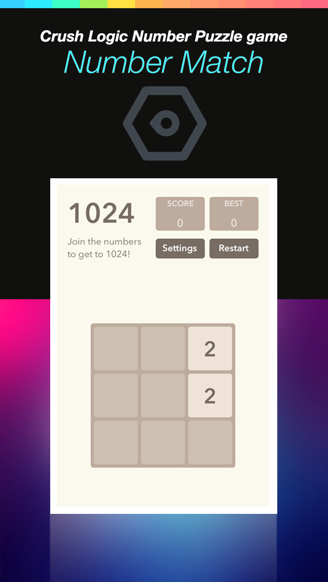 Number Match Hero Plus - Crush Logic Number Puzzle game screenshot three