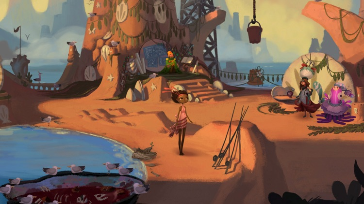 Broken Age ™ screenshot-2
