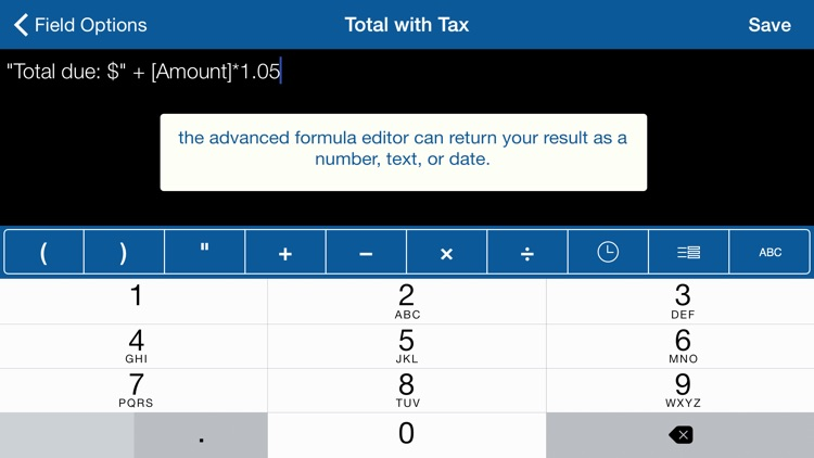 Tap Forms Organizer and Secure Database screenshot-4