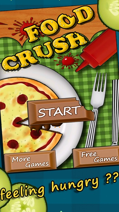 Align Food Crush - Be a Crunchy Match up Cham