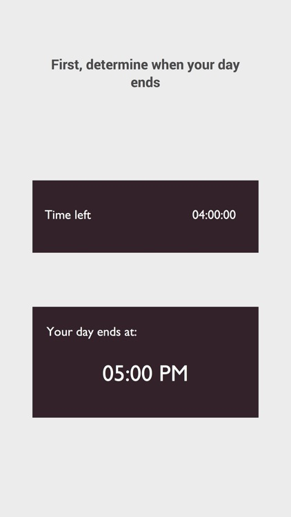 Dayflow - Finish your day activities on time