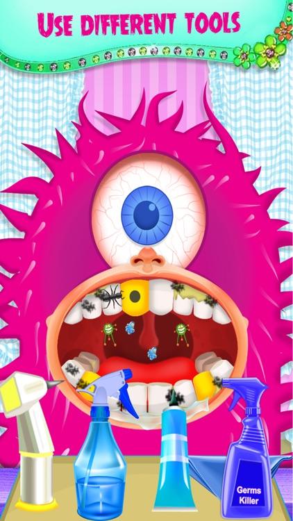 Monster Dentist Doctor - Free Fun Dental Hospital Games screenshot-3