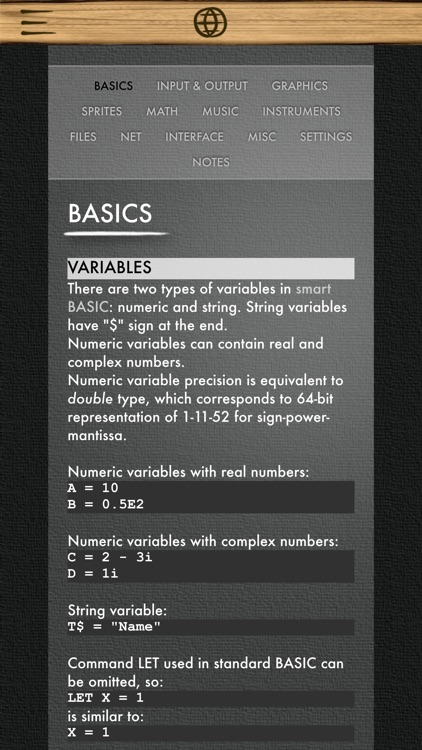 """Smart BASIC"" programming language screenshot-4"
