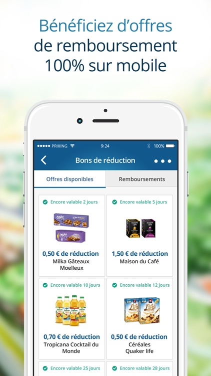 Prixing - Comparateur de prix, shopping, promotions et liste de courses screenshot-1