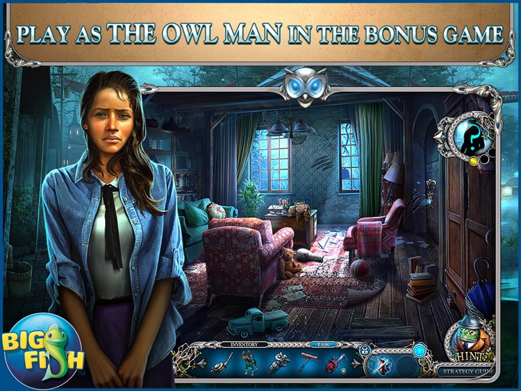 Mystery Trackers: Nightsville Horror HD - A Hidden Object Adventure (Full) screenshot-3