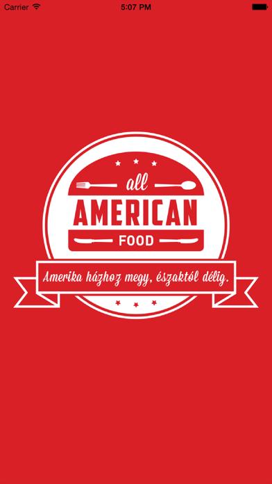 All American Food screenshot one