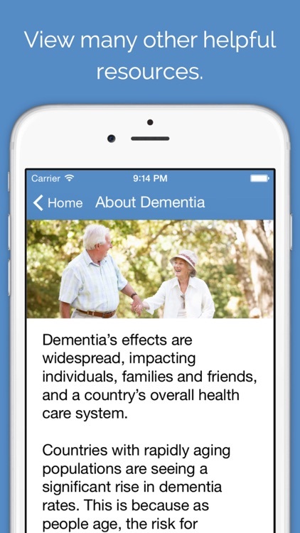 Dementia Caregiver Solutions - Professional advice for people who care for seniors with Alzheimer's and other dementias screenshot-4