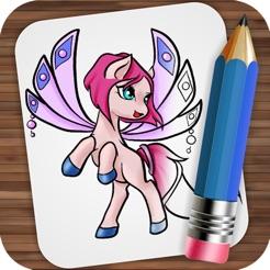 Peri Midilli çizim App Storeda