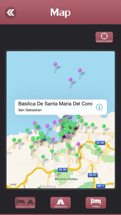 San Sebastian Offline Travel Guide screenshot-3