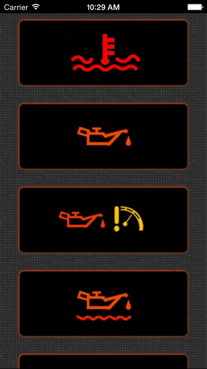 App for Chrysler Cars with Chrysler Warning Lights