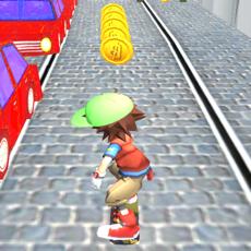 Activities of Subway Hoverboard Run