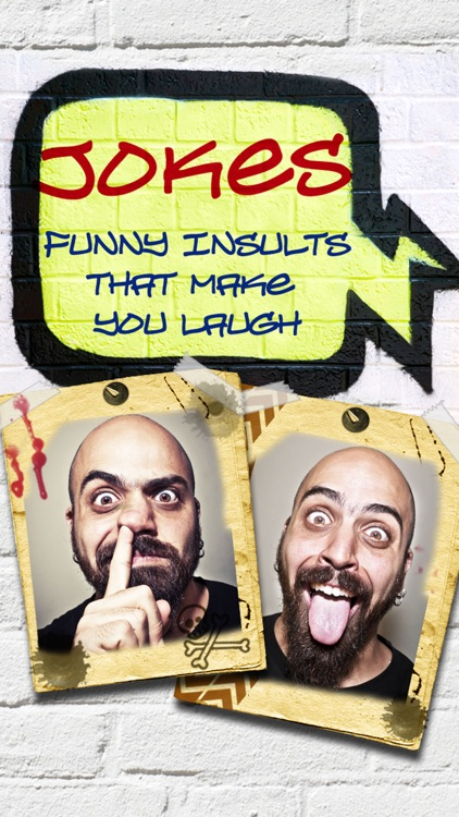 Jokes - Funny insults that make you laugh!