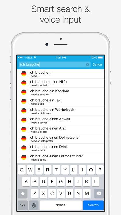 German – English Dictionary screenshot-4