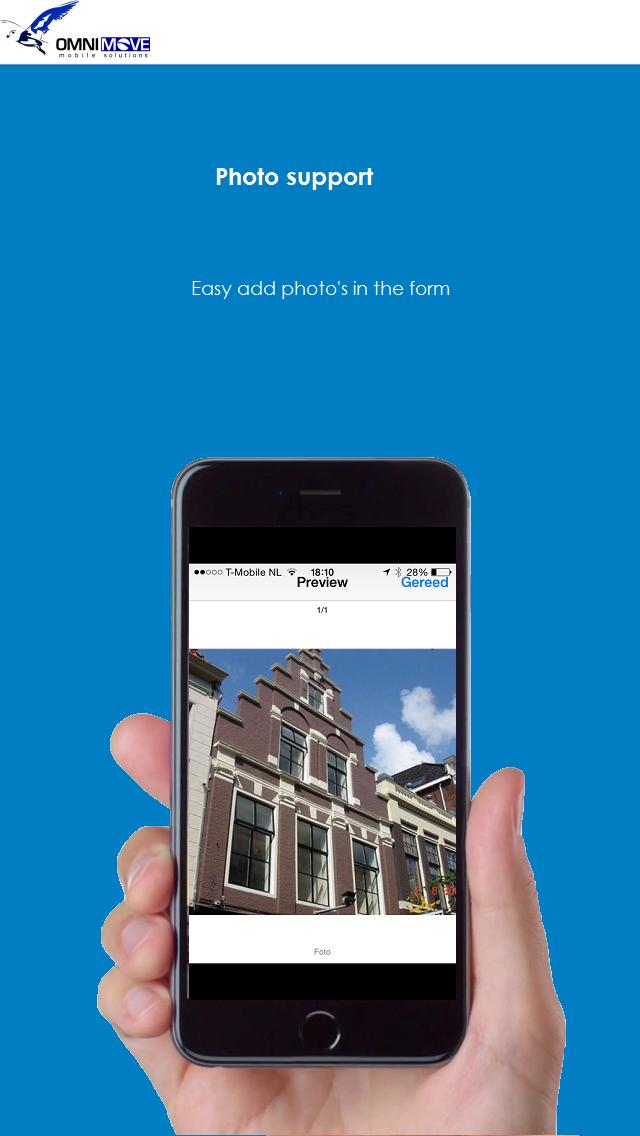 OmniMove Mobile Forms Screenshot on iOS