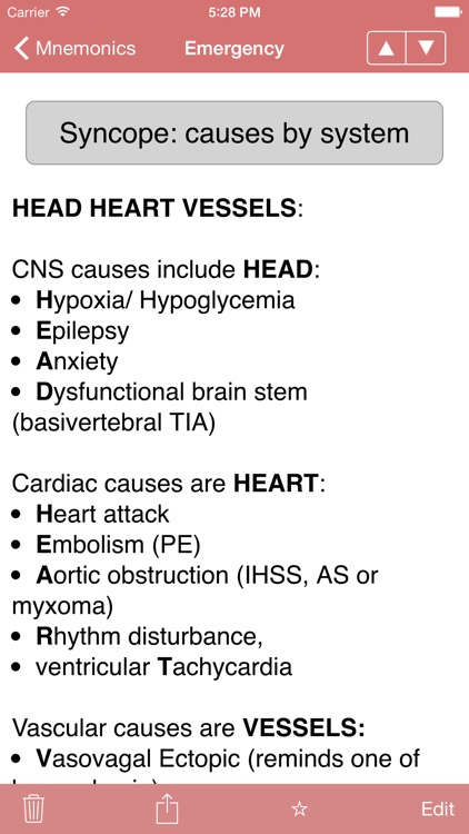 Med Mnemonics screenshot-2
