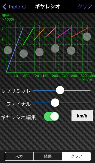 自動車用の計算や単位変換に特化した Car... screenshot1