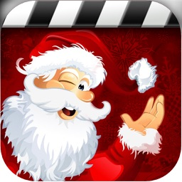 Christmas Party Night- Create Card With Santa Claus Costume & Tree Decoration
