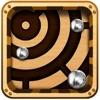 Labyrinth Maze Retro Style Game - 钢球重力不畏坐过山车 !
