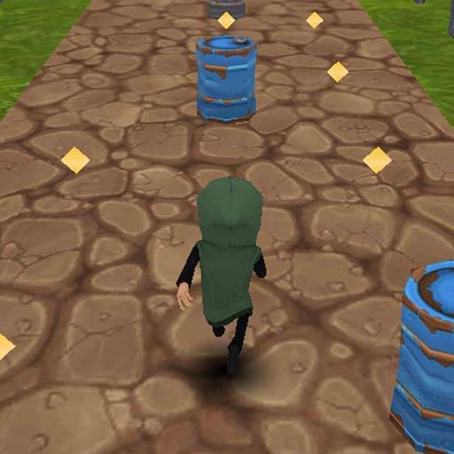 Gem Thief Run 3D