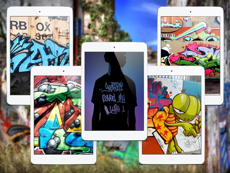 Wallpapers for Graffiti - iPad Version