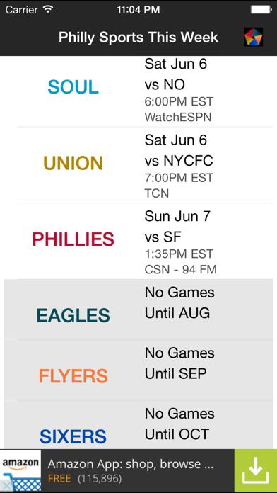 Philly Sports This Week screenshot three