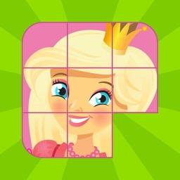 Kids Slide Puzzle Princess