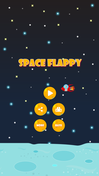 Space Flappy - Reverse Flappy Game