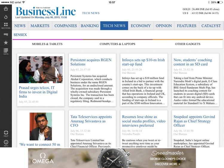 The Hindu Business Line screenshot-4