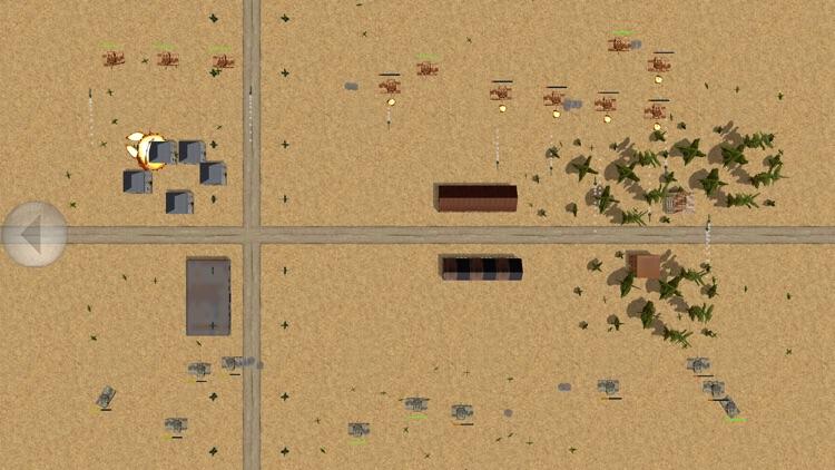 Tank Battle 2D screenshot-3