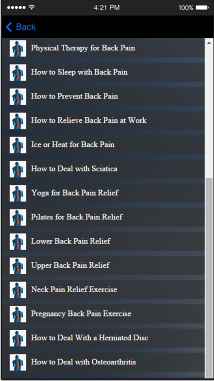 Back Pain Exercise - Learn How to Treat Lower Back Pain at Home