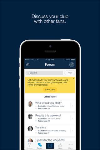 Fan App for Sale Sharks - náhled
