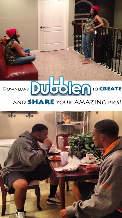 Dubblen: Split Pic Camera Lens / Clone / Double Image