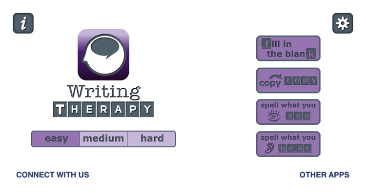 Writing Therapy – supported spelling practice for speech therapy screenshot-3