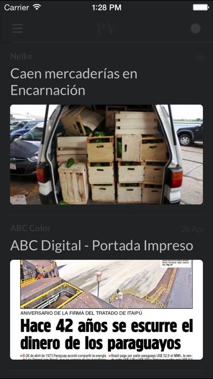 Periódicos PY - Los mejores diarios y noticias de la prensa en Paraguay screenshot-4