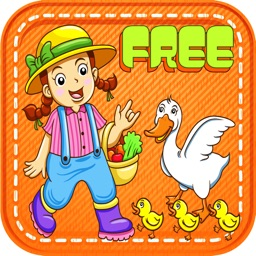 Puzzle Farm For Kids Game