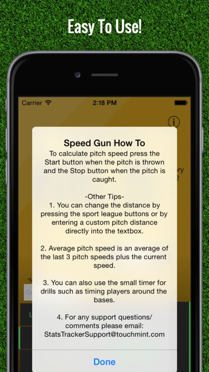 Baseball Pitch Speed - Radar Gun screenshot-4