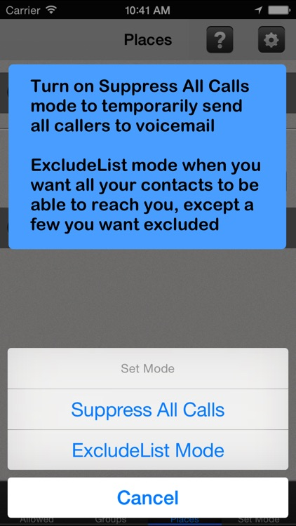Call Bliss - Silence unwanted calls and texts screenshot-3