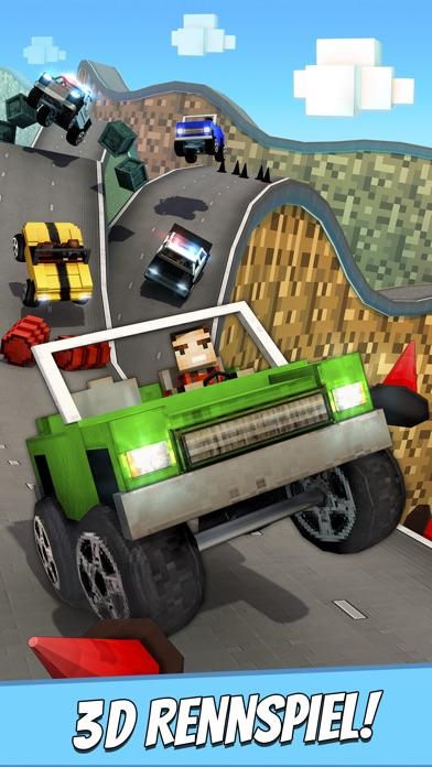 Crafting Cars . Kostenlose Auto Rennen Spiele für KinderScreenshot von 1
