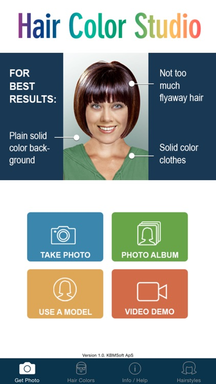 Hair Color Studio PRO - Try On a New Hair Colour screenshot-0