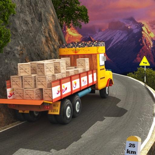 Lorry Truck Hill Transporter 3D