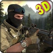 现代突击队狙击手:一线战斗的战争射击游戏