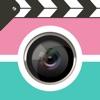 動画合成-ふたつの思い出の瞬間ムービーをひとつの6秒動画にクミアワセ-