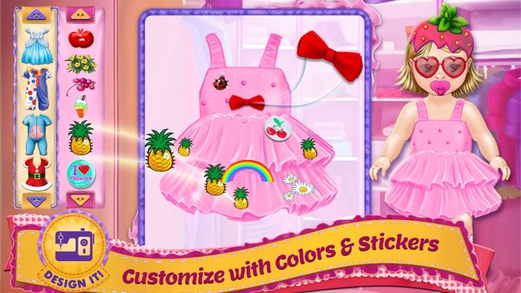Design It! - Baby Fashion Designer: Dress Up , Make Up and Outfit Maker & Tailor